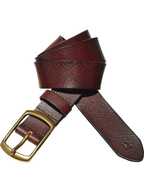 Scotch Soda Clean Leather Belt Bespoke Bourbon